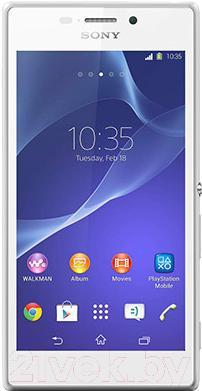 Смартфон Sony Xperia M2 / D2303 (белый)
