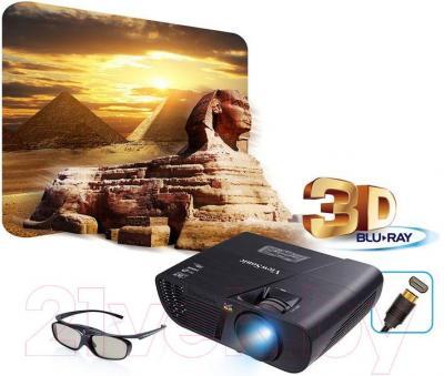 Проектор Viewsonic PJD5155L - поддержка 3D и BlueRay