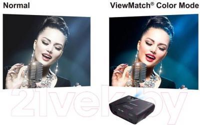 Проектор Viewsonic PJD5155L - сравнение режимов