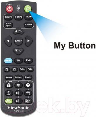 Проектор Viewsonic PJD5255L - программируемая кнопка