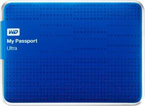Внешний жесткий диск Western Digital My Passport Ultra 2TB Blue (WDBMWV0020BBL)