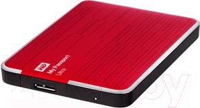 Внешний жесткий диск Western Digital My Passport Ultra 2TB Red (WDBMWV0020BRD)