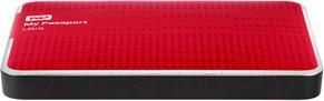 Внешний жесткий диск Western Digital My Passport Ultra 1TB Red (WDBZFP0010BRD)