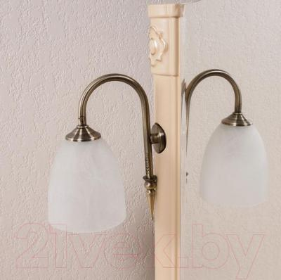 Зеркало для ванной Аква Родос Арт Деко 80 (слоновая кость)