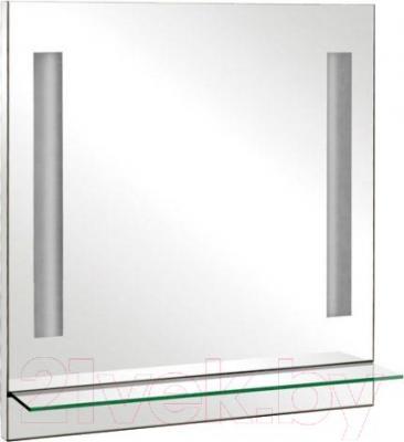 Зеркало для ванной Аква Родос Милано 75 (с полочкой)