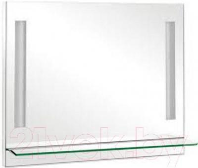 Зеркало для ванной Аква Родос Милано 95 (с полочкой)