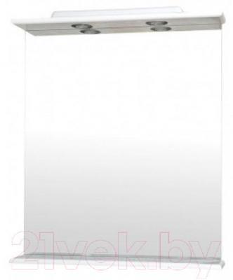 Зеркало для ванной Аква Родос Оптима 70 (с подсветкой)
