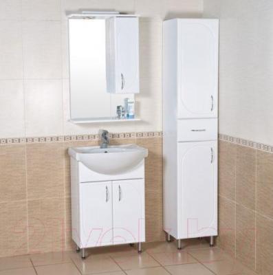 Шкаф-пенал для ванной Аква Родос Оптима 35 (левый)