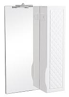 Шкаф с зеркалом для ванной Аква Родос Родорс 55 (правый) -