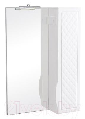 Шкаф с зеркалом для ванной Аква Родос Родорс 55 (правый)