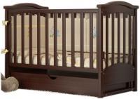 Детская кроватка Baby Dream Prestige 2 (темный орех) -