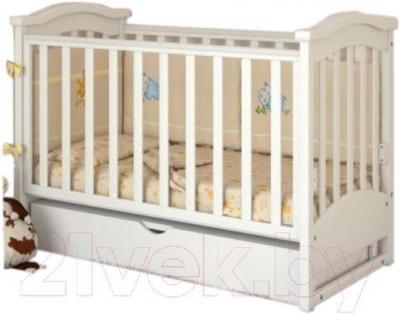 Детская кроватка Baby Dream Prestige 2 (белый)