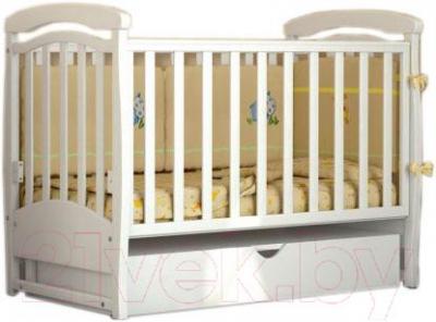 Детская кроватка Baby Dream Prestige 4 (белый)