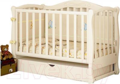 Детская кроватка Baby Dream Prestige 5 (белый)