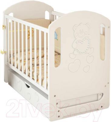 Детская кроватка Baby Dream Prestige 6 (белый)