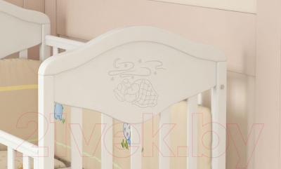 Детская кроватка Baby Dream Prestige 7 (белый)
