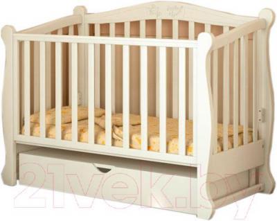 Детская кроватка Baby Dream Prestige 8 (ваниль)