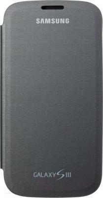 Чехол-флип Samsung EFC-1G6FSECSTD (черный) - общий вид