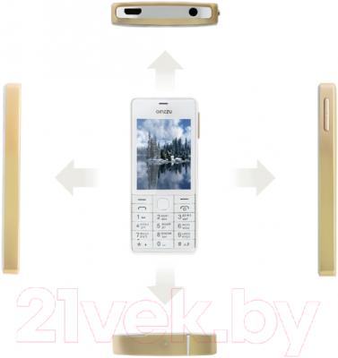 Мобильный телефон Ginzzu M105 Dual (золотой)