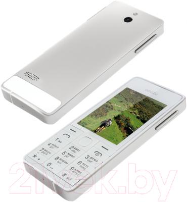 Мобильный телефон Ginzzu M105 Dual (серебристый)