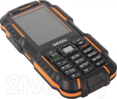 Мобильный телефон Ginzzu R6 Dual (оранжево-черный)