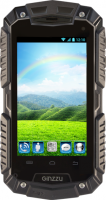 Смартфон Ginzzu RS7 Dual (черный) -