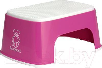 Табурет-подставка BabyBjorn 0611.55 (розовый) - общий вид