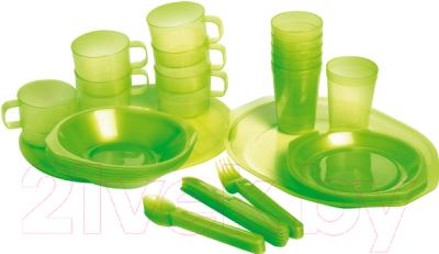 Набор пластиковой посуды Forester С813