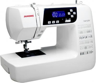 Швейная машина Janome 3160 QDC - общий вид