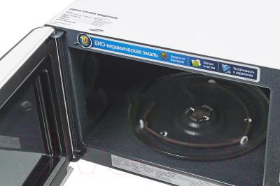 Микроволновая печь Samsung ME731KR - с открытой крышкой
