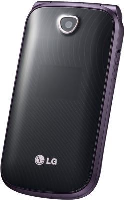 Мобильный телефон LG A258 Violet - общий вид