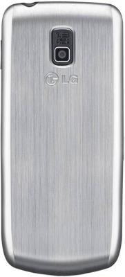 Мобильный телефон LG A290 Silver - вид сзади