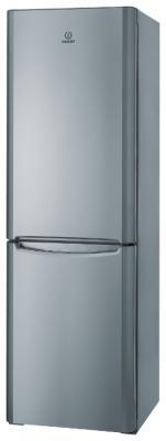 Холодильник с морозильником Indesit BIHA 20 X - Вид спереди