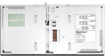 Видеодомофон NeoVizus ND-400M - вид сзади