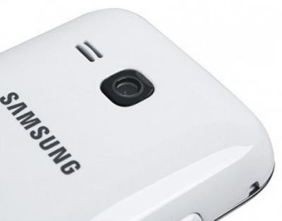 Мобильный телефон Samsung C3312 Duos White (GT-C3312 UWASER) - камера