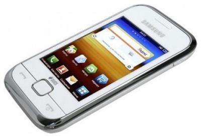 Мобильный телефон Samsung C3312 Duos White (GT-C3312 UWASER) - вид сверху