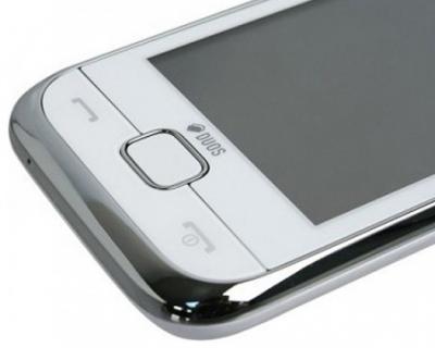 Мобильный телефон Samsung C3312 Duos White (GT-C3312 UWASER) - кнопки ответа и сброса вызова