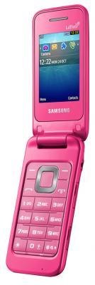 Мобильный телефон Samsung C3520 Pink with Pattern (GT-C3520 OIFSER) - в открытом виде