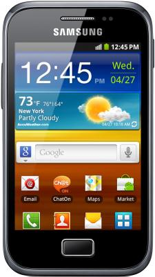 Смартфон Samsung S7500 Galaxy Ace Plus Dark Blue (GT-S7500 ABASER) - общий вид