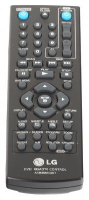 DVD-плеер LG DP527H - пульт управления