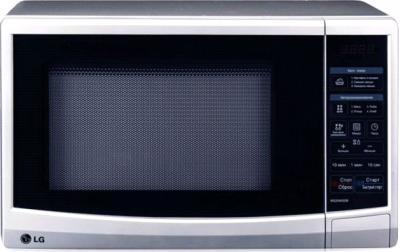 Микроволновка LG MS2040SSB - Общий вид