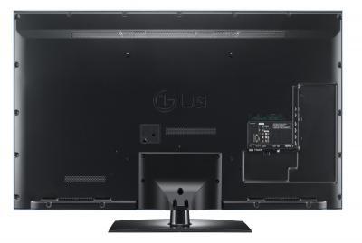 Телевизор LG 32LV4500 - вид сзади