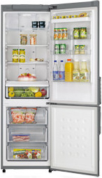 Холодильник с морозильником Samsung RL40SGMG - Общий вид