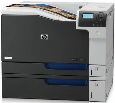 Принтер HP Color LaserJet Enterprise CP5525n (CE707A) - общий вид