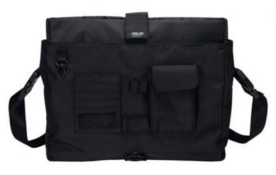 сумка для ноутбука Asus STREAMLINE Laptop Messenger Bag, Black - общий вид