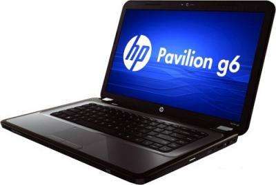 Ноутбук HP Pavilion g6-1325sr (B2A25EA)  - Вид сбоку
