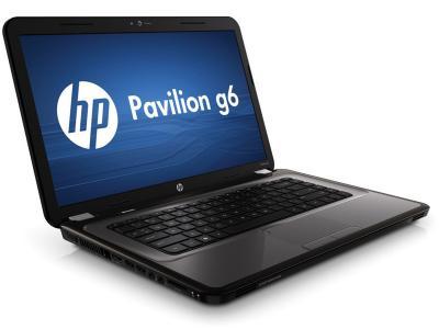 Ноутбук HP Pavilion g6-1355sr (A1P81EA)  - повенут