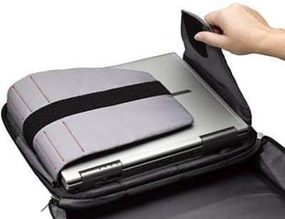 сумка для ноутбука Case Logic TNC-216 - крепления