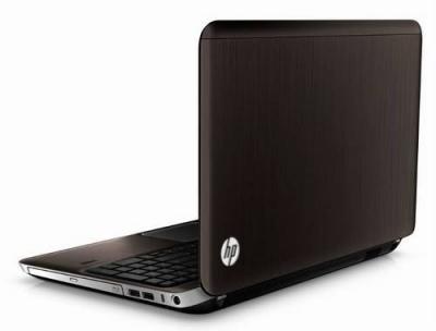 Ноутбук HP Pavilion dv6-6c05sr (B1E49EA)  - сзади