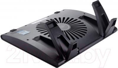 Подставка для ноутбука Deepcool Windwheel Black (XDC-Windwheel.B) - вид сзади
